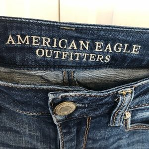 American Eagle Outfitters Jeans - American Eagle dark wash skinny denim blue jeans